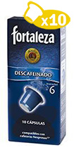 DECAFFEINATED CAPSULES</br>  10 UNITS